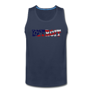 Tank Tops ~ Men's Premium Tank Top ~ A Detroit Flag
