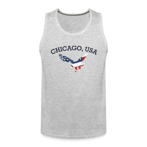 Chicago USA Eagle - Men's Premium Tank