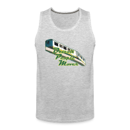 Sportswear ~ Men's Premium Tank ~ Detroit People Mover