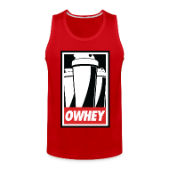 Tank Tops ~ Men's Premium Tank Top ~ OWHEY - Tank Top