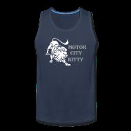 Sportswear ~ Men's Premium Tank ~ Motor City Kitty