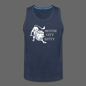Motor City Kitty - Men's Premium Tank