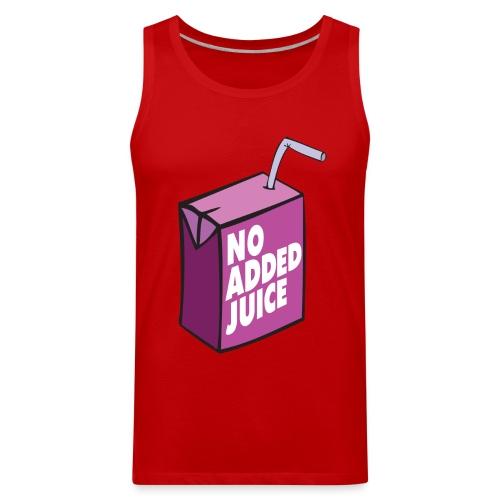 No Added Juice (Purple Design) - Tank Top - Men's Premium Tank