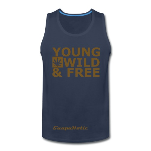 Young Wild & Free Tank Top - Men's Premium Tank