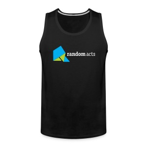 RA Men's Tank Top (light logo) - Men's Premium Tank