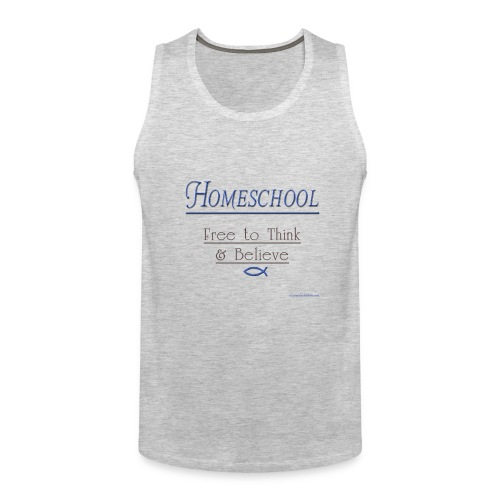 Homeschool Freedom - Men's Premium Tank