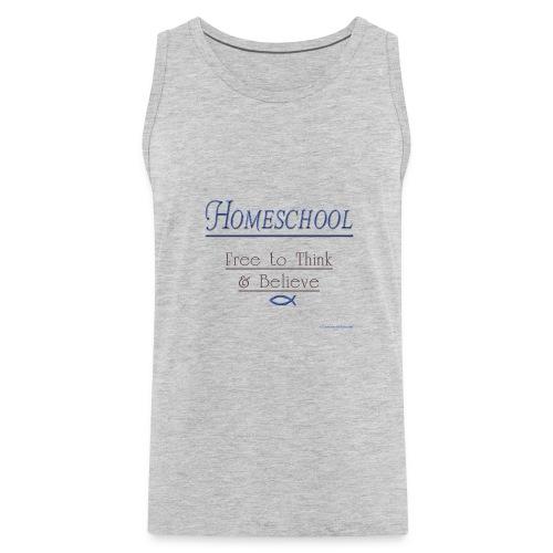 Homeschool Freedom - Men's Premium Tank