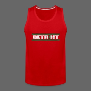 Algerian Detroit National Flag - Men's Premium Tank