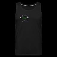 Sportswear ~ Men's Premium Tank ~ Do You Even Lift Hippie White VNECK