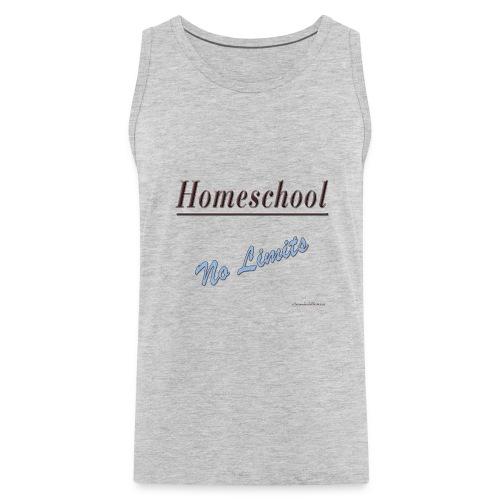 No Limits Homeschool - Men's Premium Tank
