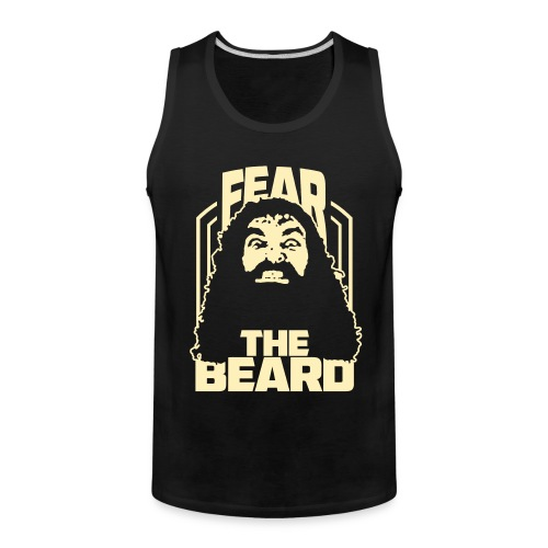 Fear The Beard - Men's Premium Tank