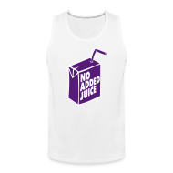 Tank Tops ~ Men's Premium Tank Top ~ NO ADDED JUICE (Purple Design) - Tank