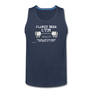 Planet Beer Gym Men's Tank Top - Men's Premium Tank