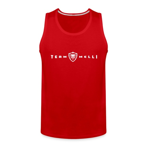 Team Melli Badge - Tank Top Men's - Men's Premium Tank