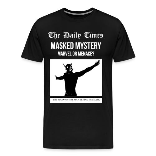 Mystery - Marvel or Menace (3XL-4XL) - Men's Premium T-Shirt