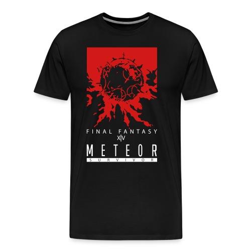 FFXIV:ARR Meteor Survivor Men's 3XL & 4XL Shirt - Men's Premium T-Shirt