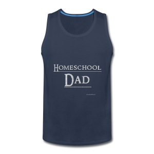 Homeschool Dad - Men's Premium Tank