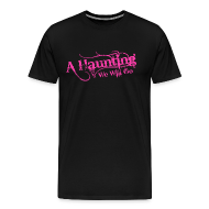 T-Shirts ~ Men's Premium T-Shirt ~ AHWWG Pink Logo Front