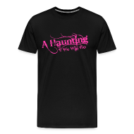 T-Shirts ~ Men's Premium T-Shirt ~ AHWWG Pink Logo Front