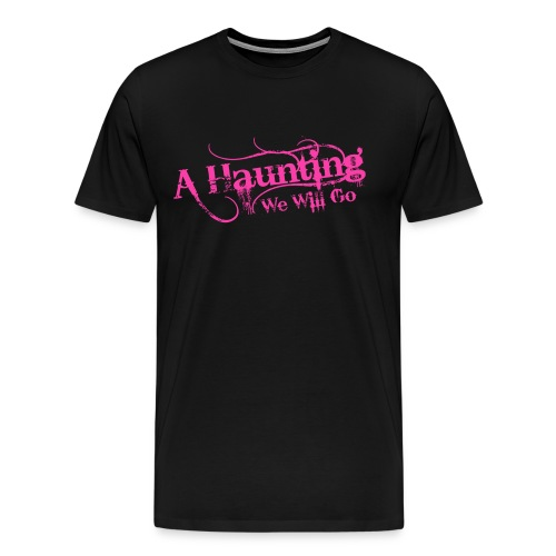 AHWWG Pink Logo Front  - Men's Premium T-Shirt