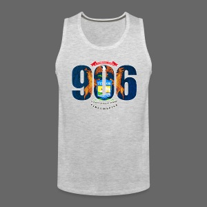 906 Michigan Flag - Men's Premium Tank