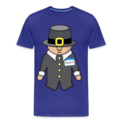 Scott, the Pilgrim - 3x-4x - Men's Premium T-Shirt