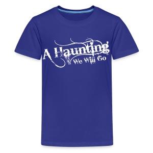 AHWWG White Logo Kids Front Design  - Kids' Premium T-Shirt