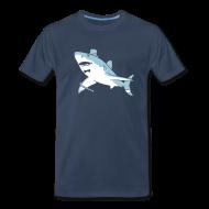 T-Shirts ~ Men's Premium T-Shirt ~ [sirgreatwhite]