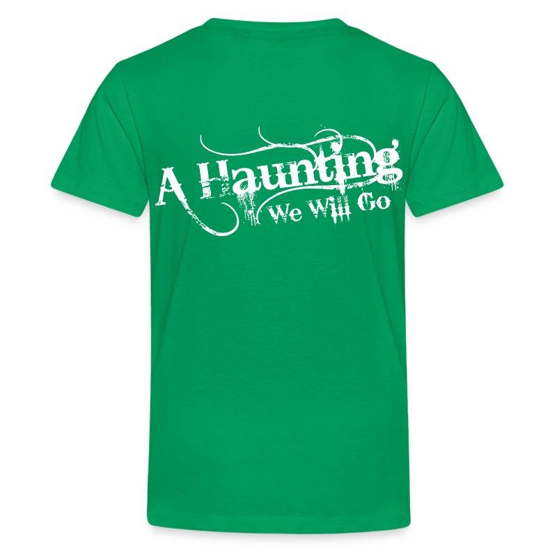 AHWWG White Logo Kids Back Design  - Kids' Premium T-Shirt