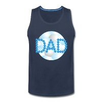 Soccer Dad Blue - Men's Premium Tank