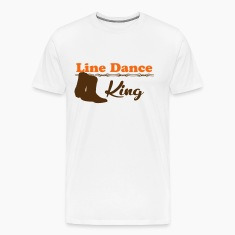 Line Dance King T-Shirts