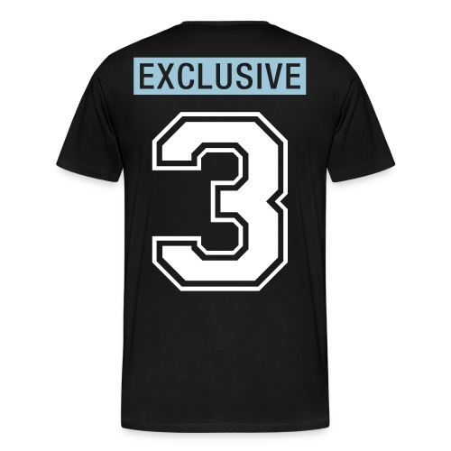Powder Blue 3's Exclusive Mind Tee - Men's Premium T-Shirt