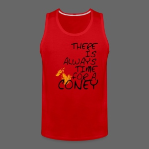 Always Time For A Coney - Men's Premium Tank