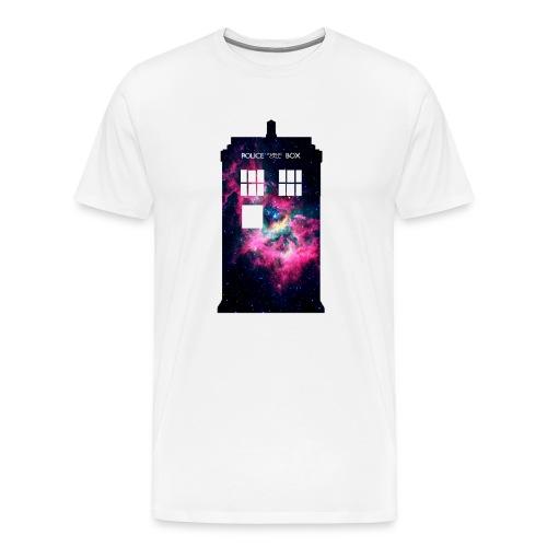 TARDIS Galaxy - Men's Premium T-Shirt