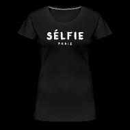 T-Shirts ~ Women's Premium T-Shirt ~ Selfie - Women's T-shirt