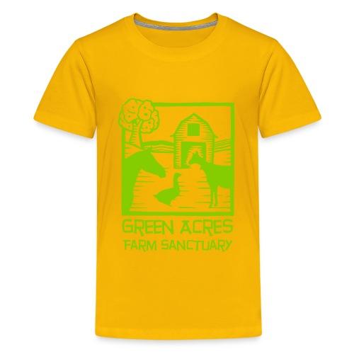 Kids Tee - Green Logo - Kids' Premium T-Shirt