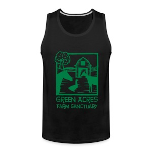 Men's Style Tank - Green Logo - Men's Premium Tank