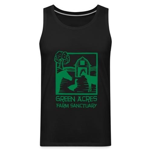 Men's Style Tank - Green Logo - Men's Premium Tank