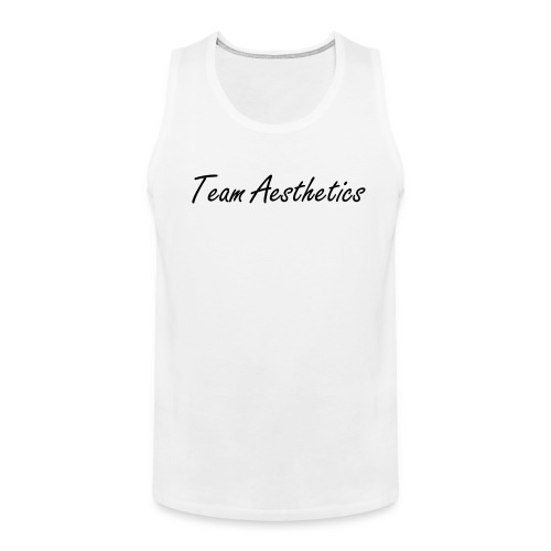 the Team Aesthetics Tank Fit (Black) - Men's Premium Tank