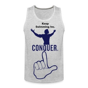 Keep Swimming Conquer's! - Men's Premium Tank