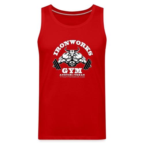 IronWorks Gym Tank Top - Men's Premium Tank