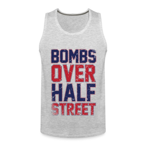 Bombs Over Half Street Men's Tank - Men's Premium Tank