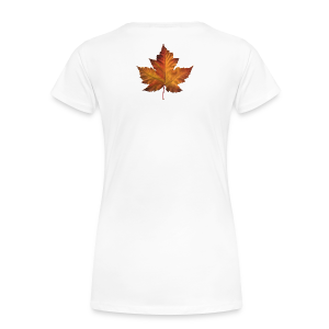 Women's Canada T-shirt Plus Size Maple Leaf Souvenir T-shirts - Women's Premium T-Shirt