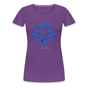 Homeschool Where it's At - Women's Premium T-Shirt