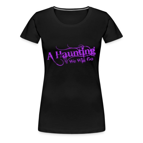 AHWWG Purple Logo Front  - Women's Premium T-Shirt