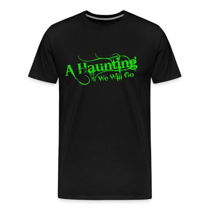 AHWWG Green Logo Front  - Men's Premium T-Shirt