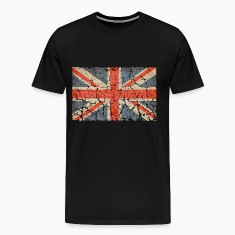 UK Flag Distressed