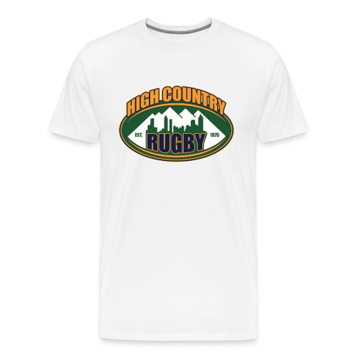 High Country Rugby 2014 Logo - Men's Premium T-Shirt