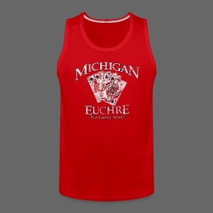 Michigan Euchre - Men's Premium Tank