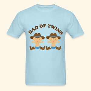 Dad Of Twins Father's Day T-shirt - Men's T-Shirt